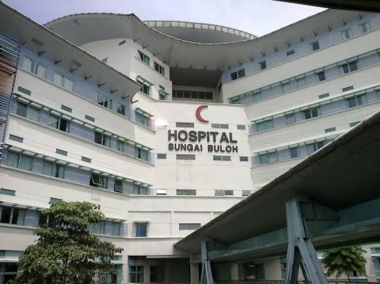Hospital Sg.Buloh, UiTM dan aku