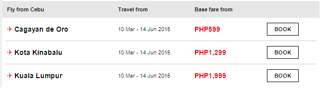 AIR ASIA: Sunny Sale is on 2015!