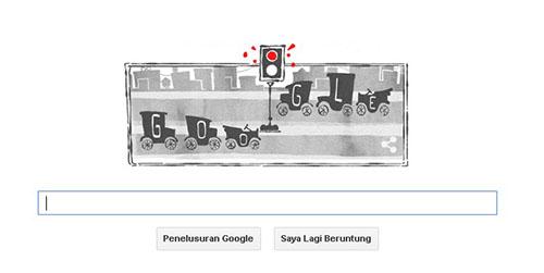 sejarah lampu lalu lintas