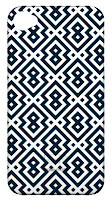 Custom Design Personalized iPhone Case in Geometric Pattern