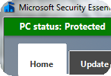 Microsoft Security Essentials Thumb