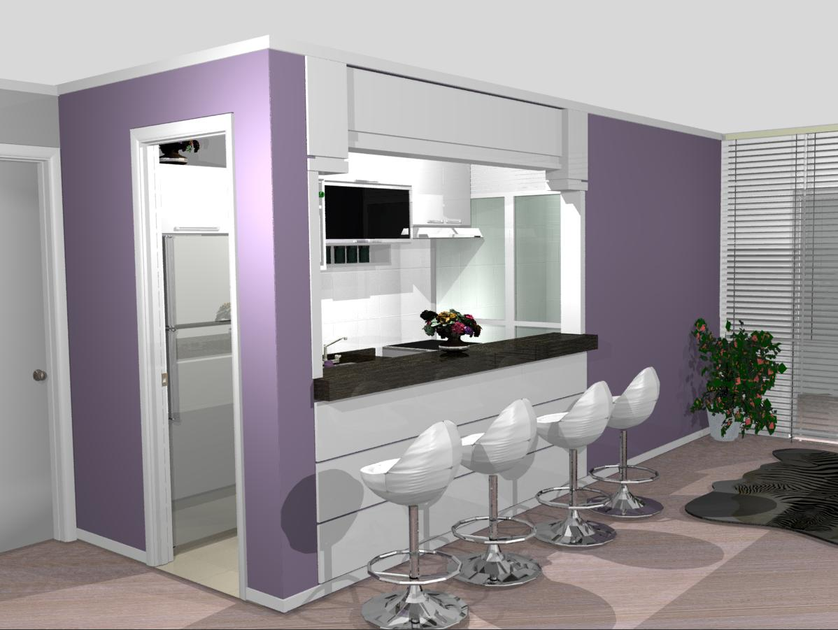 cozinha planejadas pequenas decorada americana modulada luxo moderna  #6B5378 1198 901