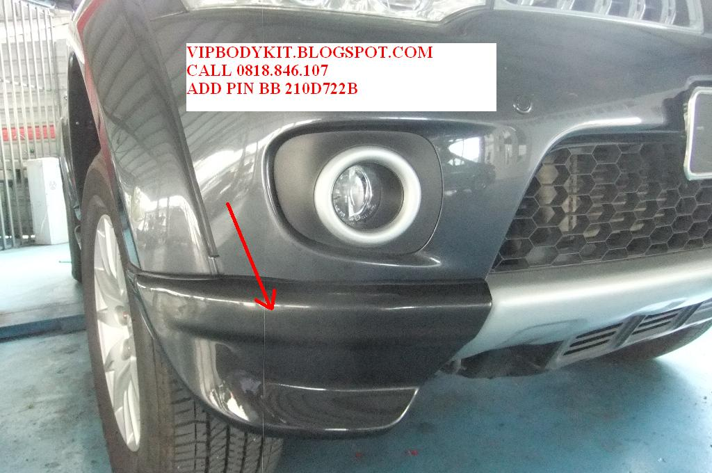 BRAND NEW 2011 MODEL for PAJERO SPORT KIT | Macam2 Bodykit ...