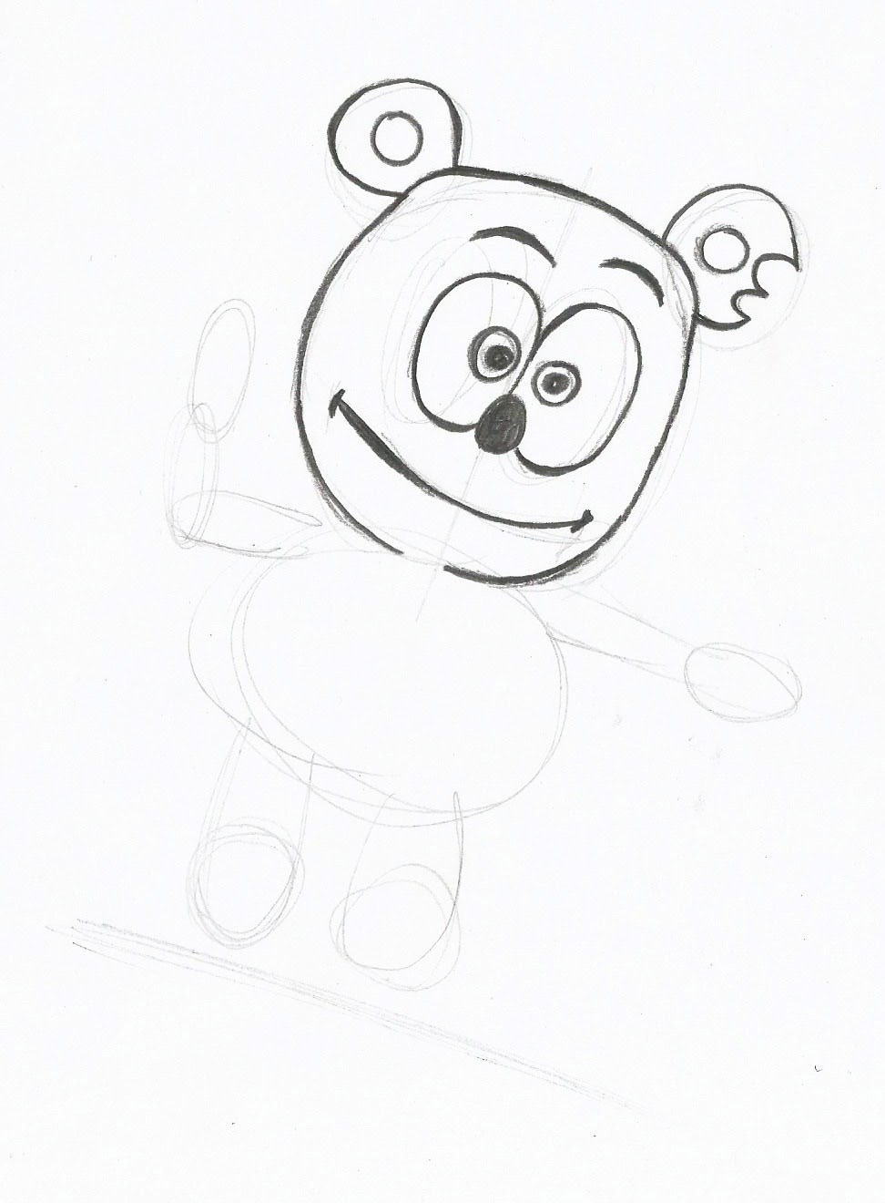 gummy bear coloring pages bear coloring page colouring page