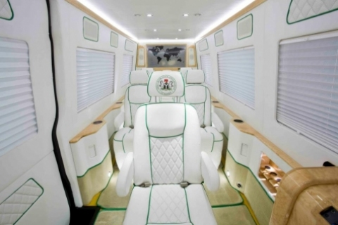 Governor Akpabio Purchases Million-Dollar Bullet Proof Luxury Vans