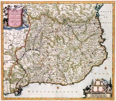 Principatus Catalonia et Comitatuum Ruscinonis et Cerretaniae (Frederik de Wit)