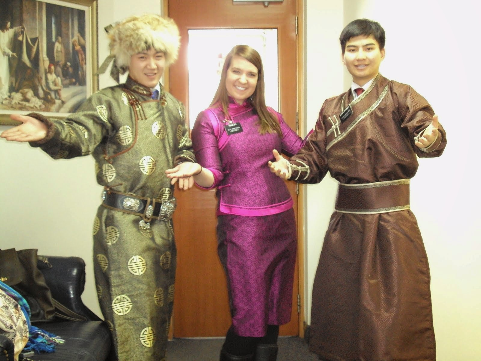 Mongolian Fancy Dress