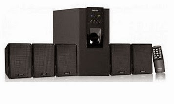 Philips IN-DSP30U/00 5.1 multimedia Speaker for Rs.2520 Only @ Amazon (MRP: Rs.7990, Sale Price: Rs.3490, Deal Price: Rs.2520)