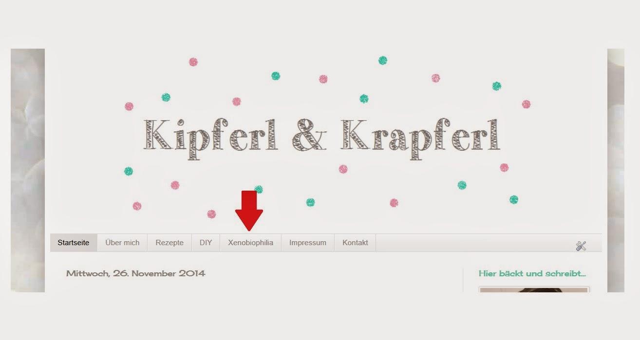 blog, blogger, lifestyle, kipferlundkrapferl, xenobiophilia