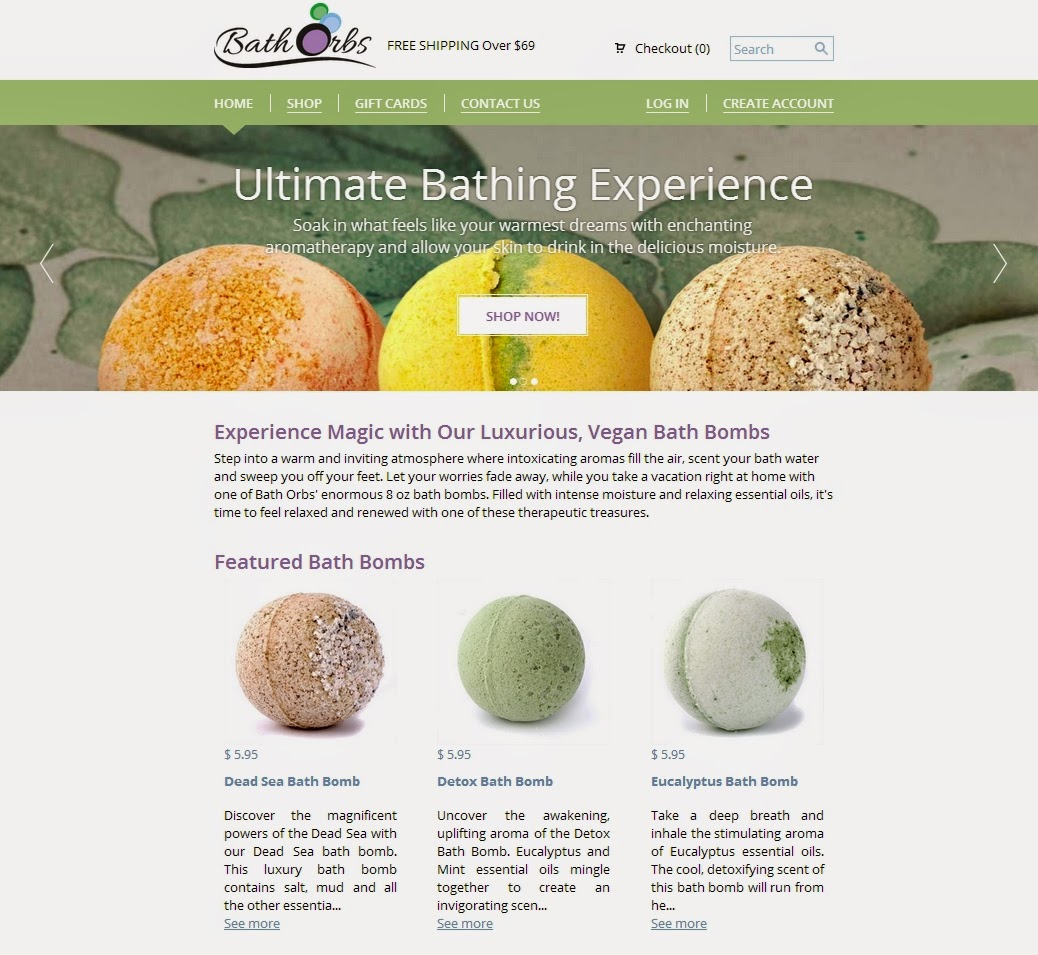 BathOrbs.com Offers Luxurious Vegan Bath Bombs