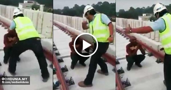 Patutkah begini? Pekerja asing dimarah dan dipukul jadi viral