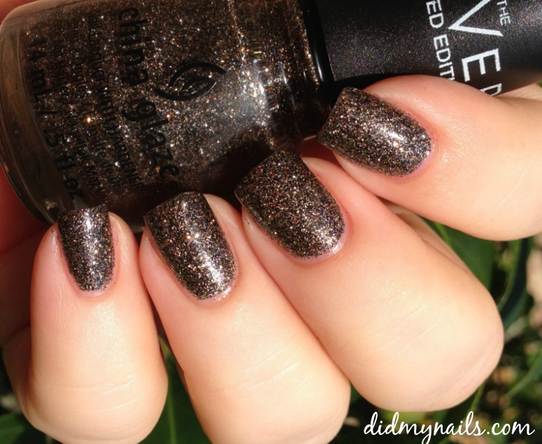 China Glaze Boundary of Memory swatch