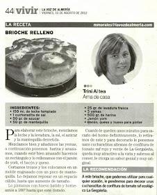 La Voz de Almería 10 de Agosto 2012