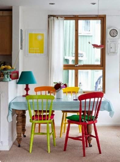 3265 7 or 1401175245 صور غرف سفرة عصرية ملونة مودرن