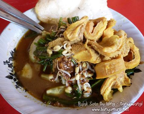 Kuliner Banyuwangi - Rujak Soto Bu Ning