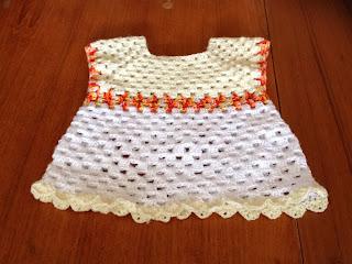 Granny stripes tunic