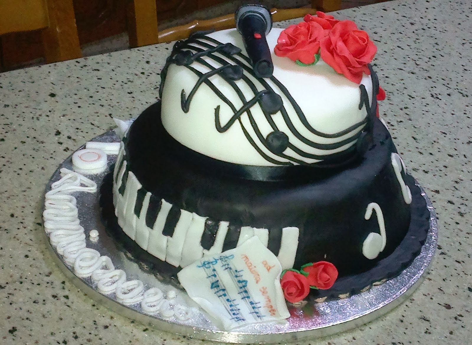 Strumenti Cake Design Torino : SCHOOL OF SUGARCRAFT: Music cake or torta musicale ...