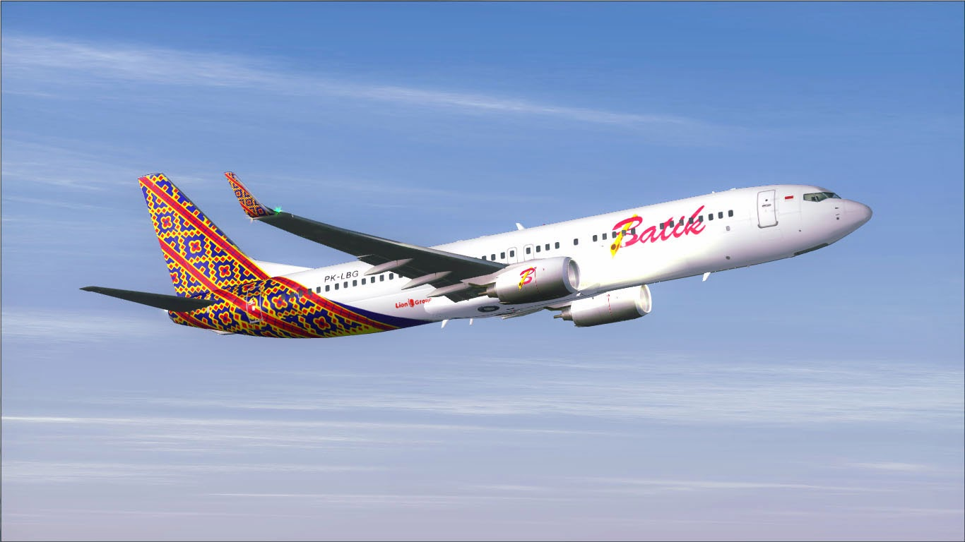 Posky 737-900ER Batik Air