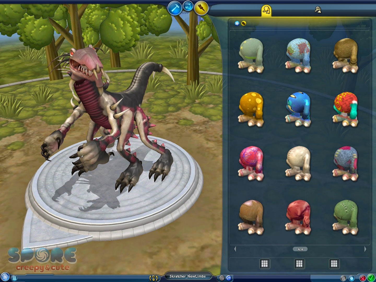 spore how to add to pack