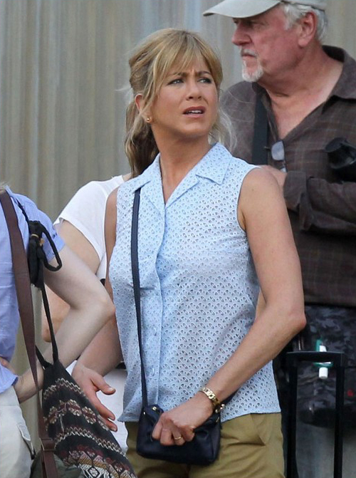 Jennifer Aniston Spotted On Set Of 'We're The Millers' » Gossip | Jennifer Aniston