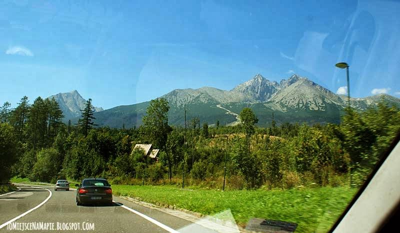 Droga wolności, Słowacja, Tatry Wysokie, Łomnica