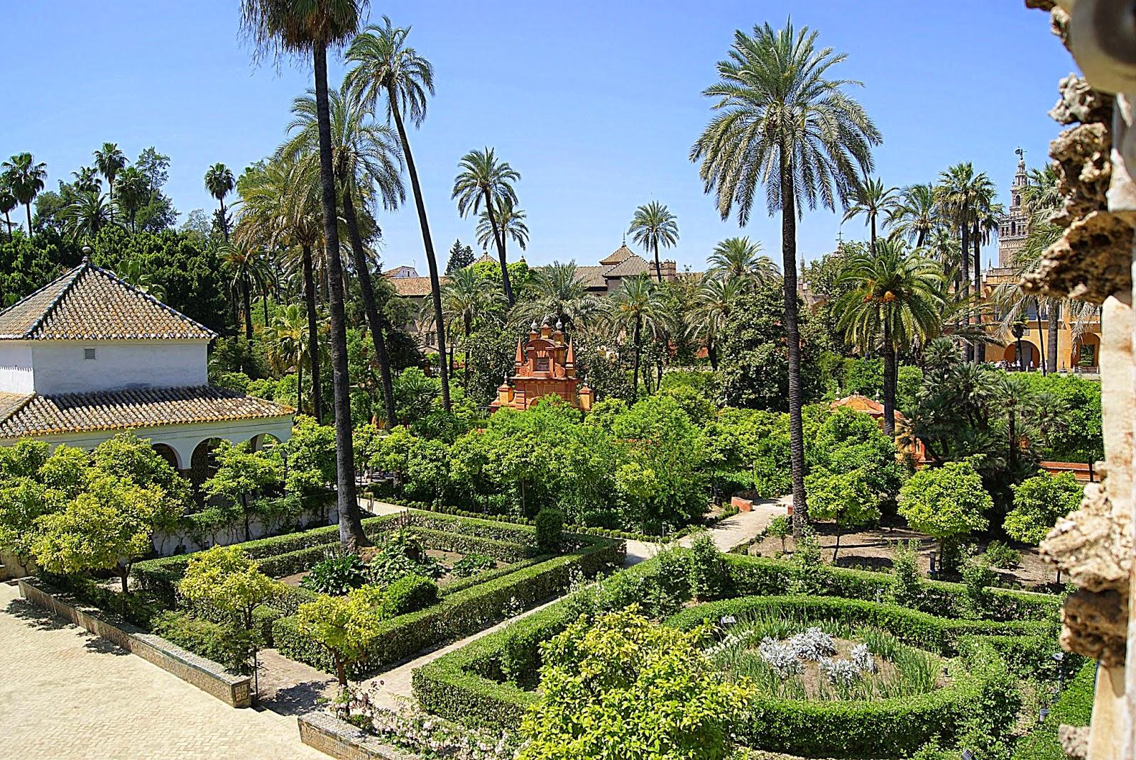 Leyendas de sevilla reales alc zares de sevilla vii los jardines viejos - Jardines de sevilla ...