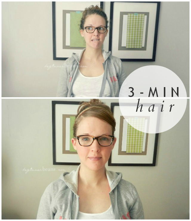 Tips for 3-Minute Hair