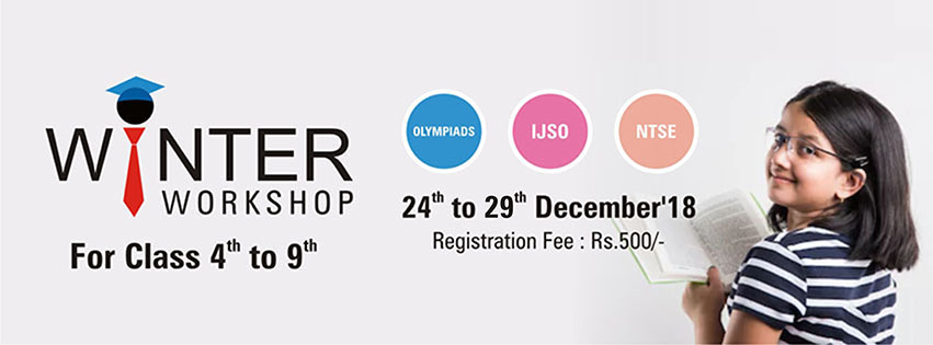 Winter Wotkshop for Class 04th to 09th