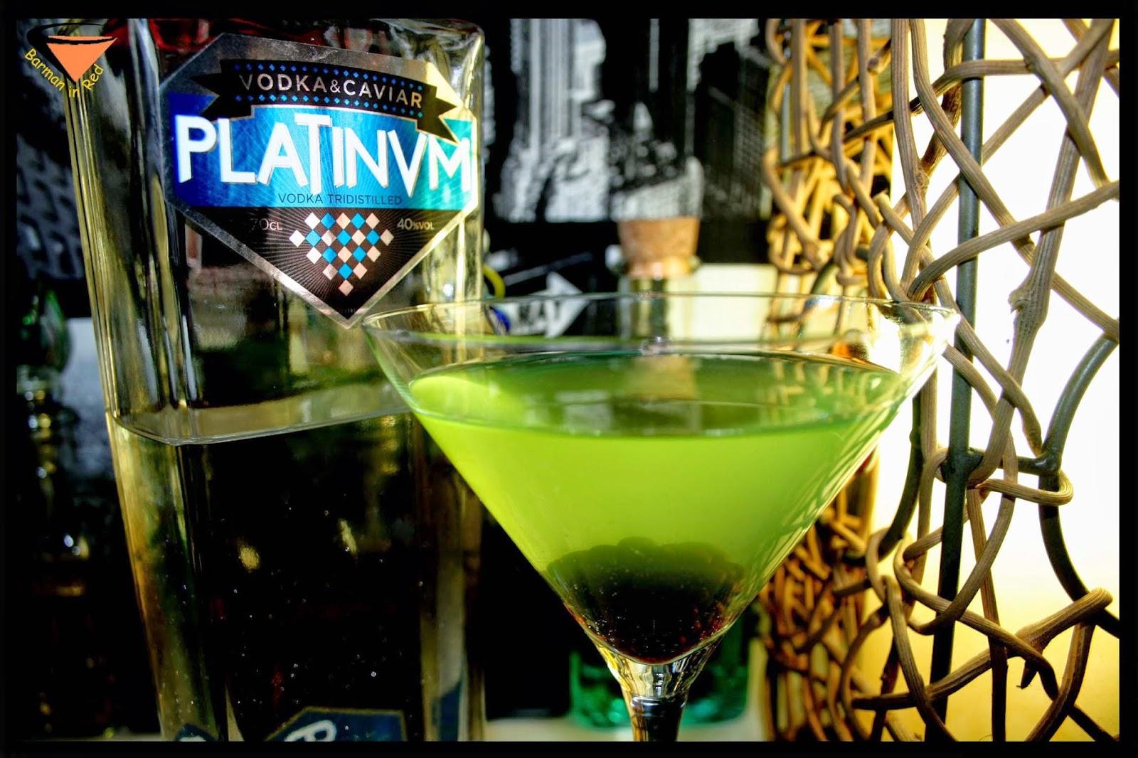 Platinum Vodka Caviar