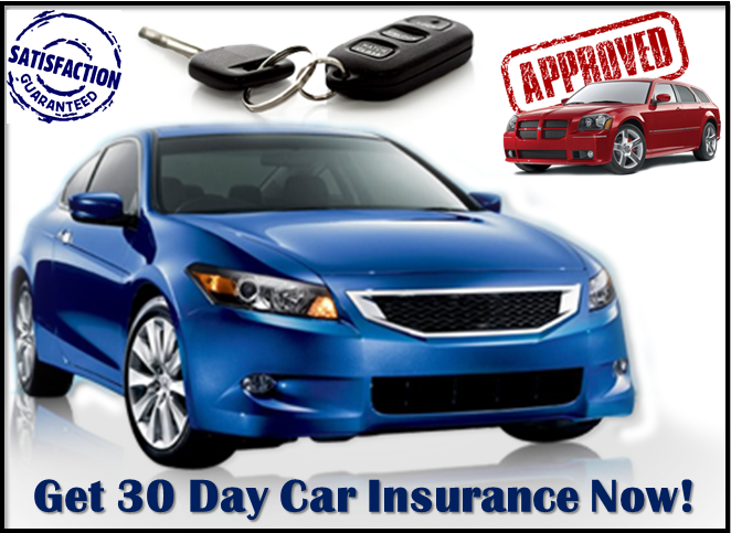 30 Day Car Insurance With No Down Payment