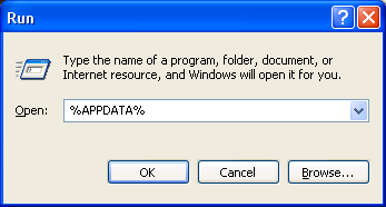 how to find the appdata folder in windows 7