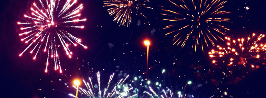 Fireworks facebook cover