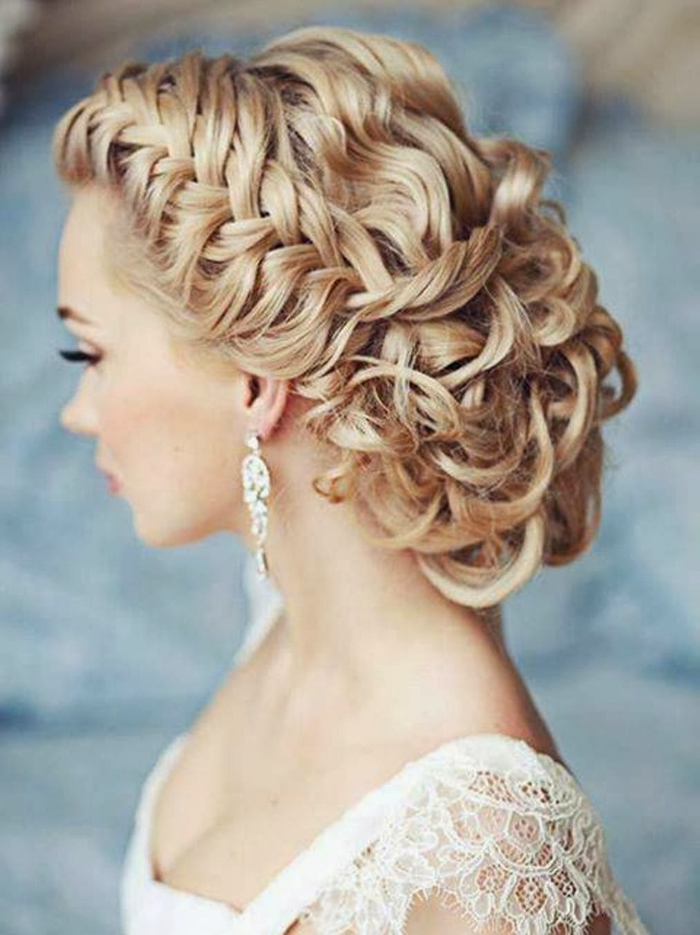 Memorable Wedding Bridal Hair Trend Braids