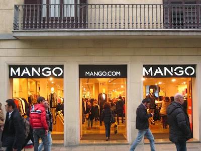 Mango store in Barcelona