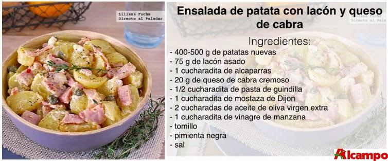 Ensalada Patata Lacón
