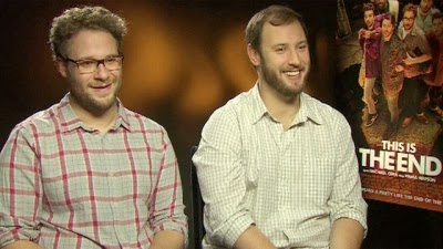Seth Rogen plays Seth Rogen in THIS IS THE END, which he co-wrote and co-directed with Evan Goldberg
