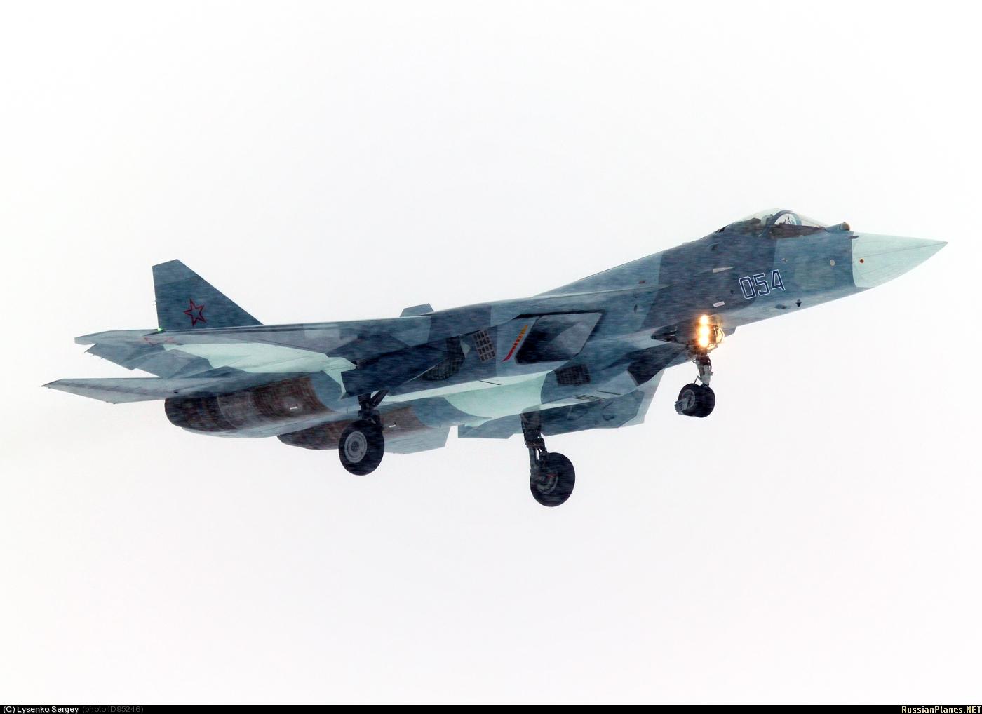 russie T-50+054+ZHUKOVSKII+17-01-2013