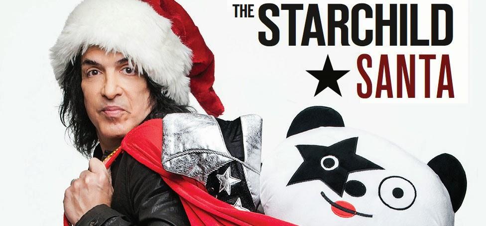 Paul Stanley - The Starchild Santa