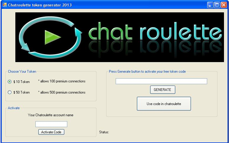 free chatroulette account