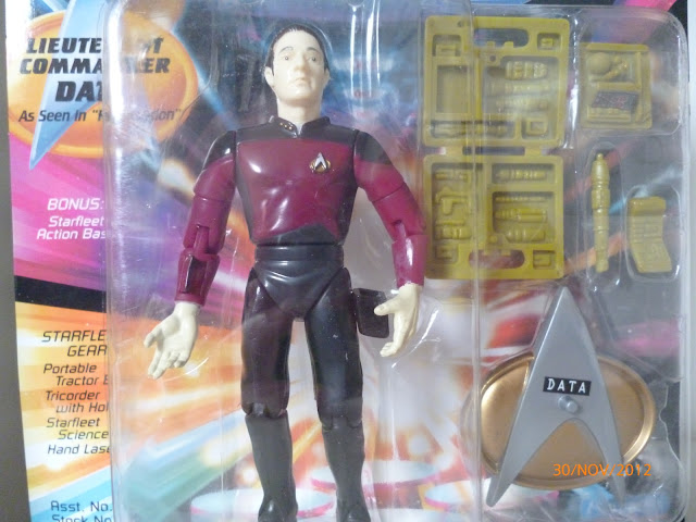 "Star Trek Playmates Redemption ""Red"" Data Action Figure"