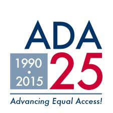 ADA 25th Anniversary on July 26, celebrate the Americans with Disabilities Act (ADA)