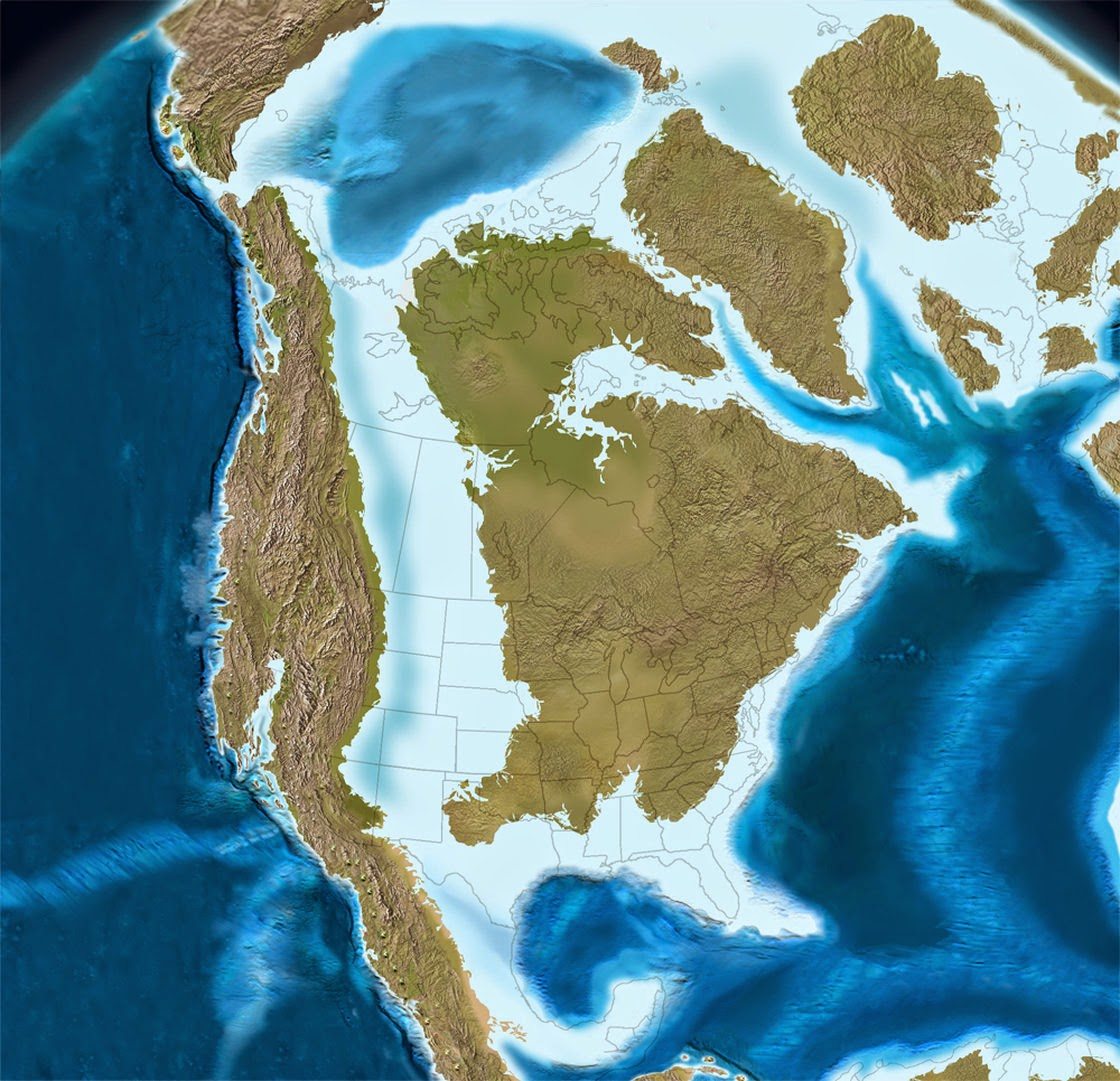 Late Cretaceous North America