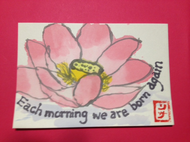 lotus etegami