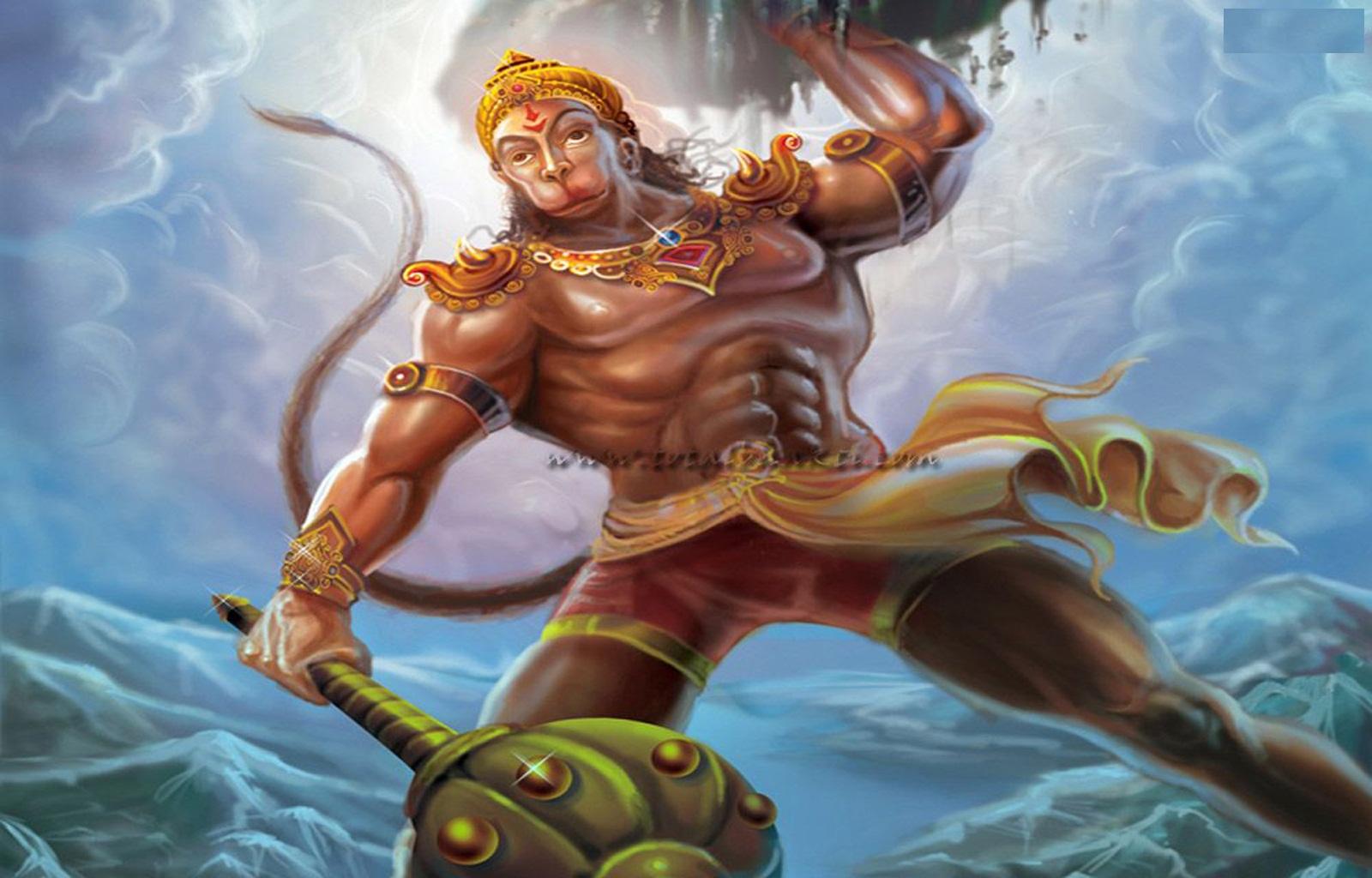 Lord Hanuma Anjaneya Vayuputhra