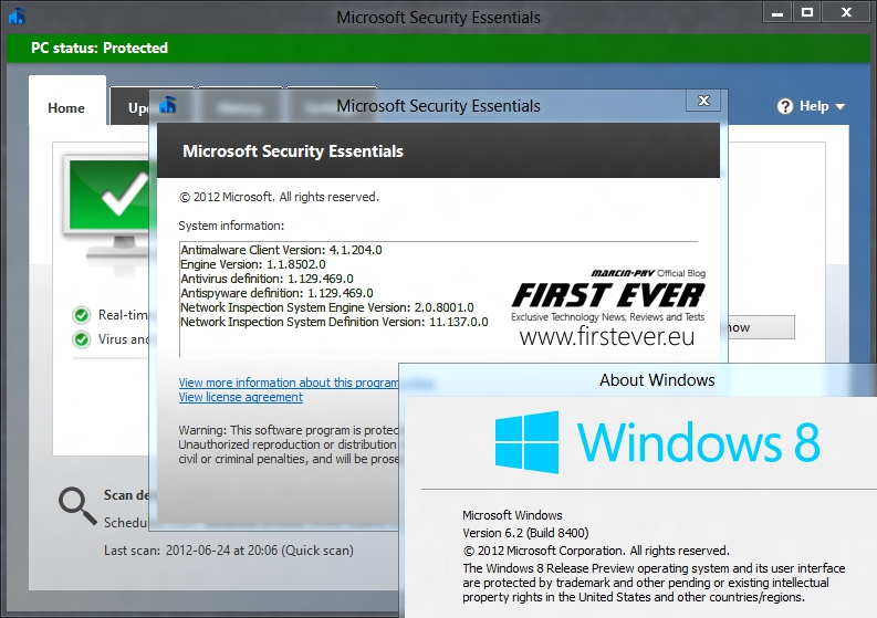 telecharger microsoft security essentials pour windows 8