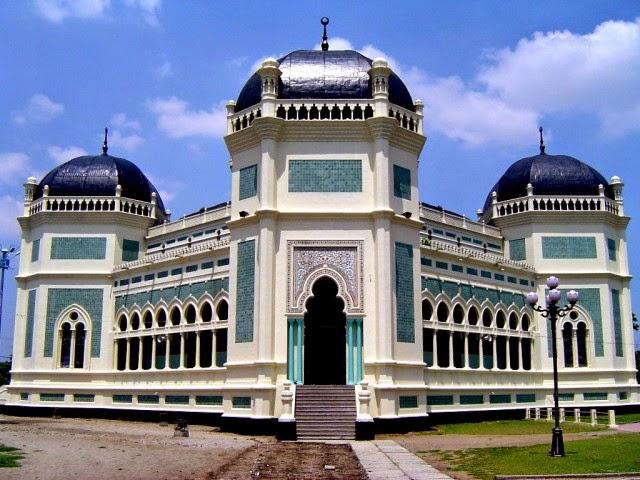 Masjid Raya Medan, Sumatra Utara