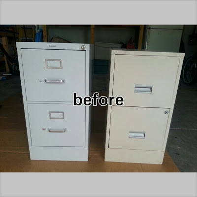 alas 3 lads diy project painted metal file cabinet. Black Bedroom Furniture Sets. Home Design Ideas