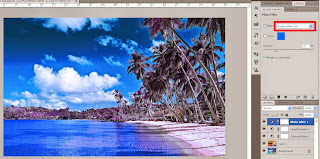 5 step to make infrared effect - http://kios-tutorial.blogspot.com