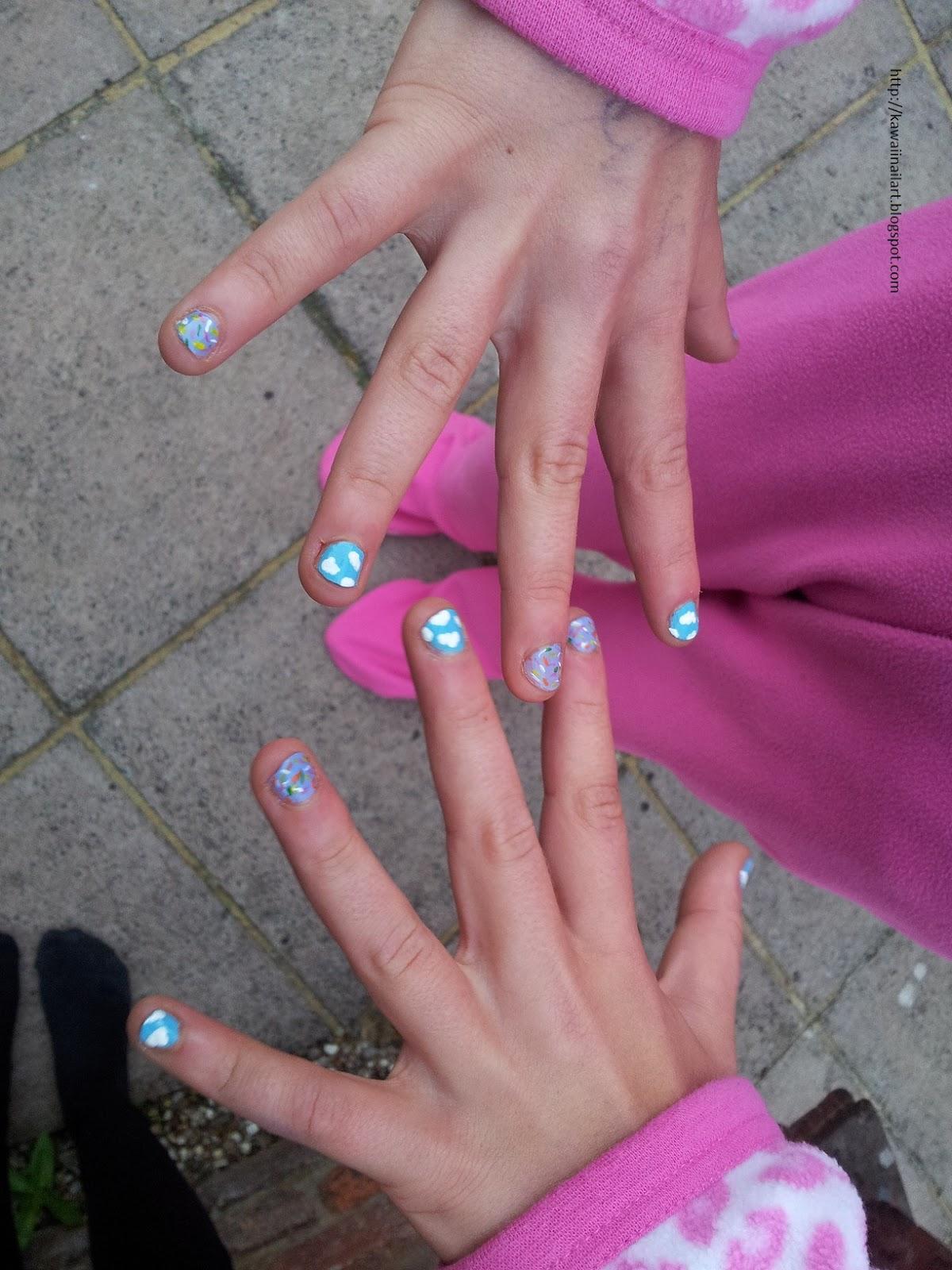 Kawaii Nail Art: Glamping Nail Art Party