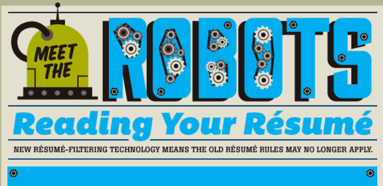 How To Create A Robot-Freindly Resume [infographic]